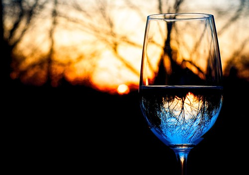 34/365: Sunset Wine