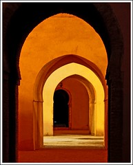 Doors, colors and ligths (Z Eduardo...) Tags: africa door colors arch interior muslim unesco worldheritagesite maroc marocco ligth meknes darelma aplusphoto theunforgettablepictures betterthangood theperfectphotographer housewater