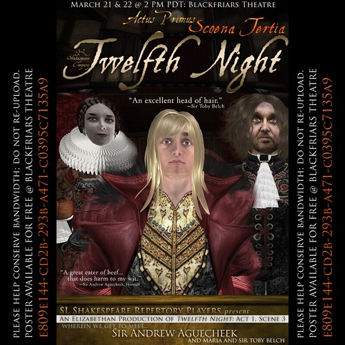 Twelfth Night Elizabethan I iii by SL Shakespeare Repertory Players