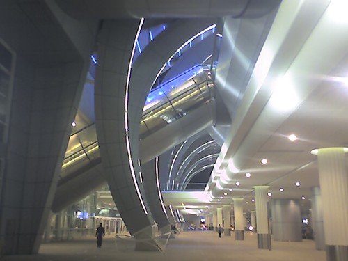 Dubai International Airport Terminal 3: Opening Day by kenkilfedder.