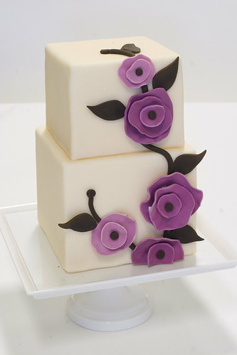 elegant modern wedding cakes