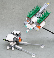 Soil Analyser And Seedling Planter (jehkay) Tags: lego farming soil agriculture planter seedling mecha analyser verticalfarm