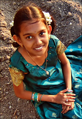 A Smile from Tamilnadu, India (P.C.P) Tags: portrait india girl smile children finepix fujifilm f11 tamilnadu pcpsk59