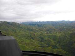 Flying across Fiji