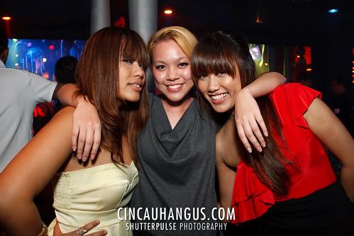 Chicks around the club