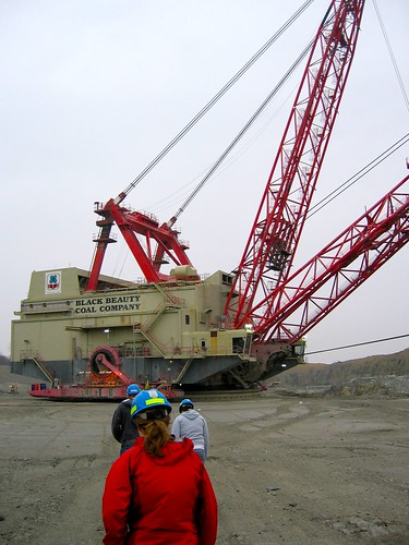 Approaching the Dragline