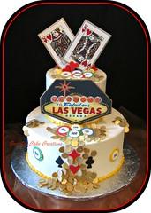 Las Vegas Themed Cake