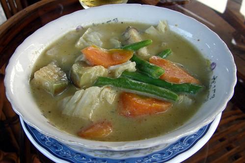 77.蔬菜綠咖哩