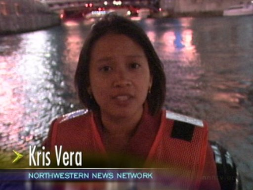 Reporting from the Chicago River