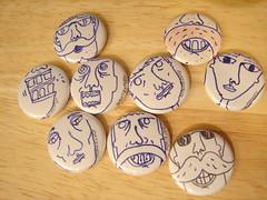 face pins