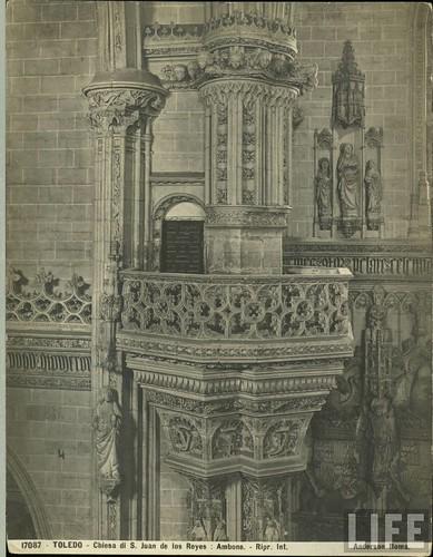 Monasterio de San Juan de Los Reyes  de Toledo a principios del siglo XX. Archivo de la revista Life