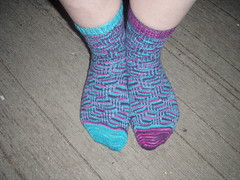 Falling Down Socks