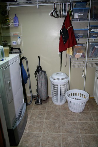 Nearly done with laundry room