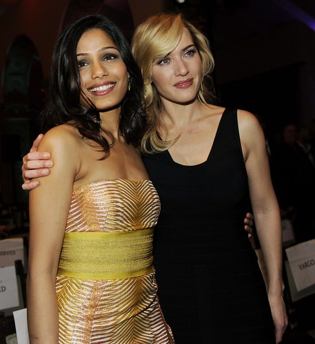 Freida Pinto and Kate Winslet