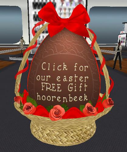 Hoorenbeek gift for Easter