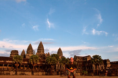 Angkor Wat jumping picture