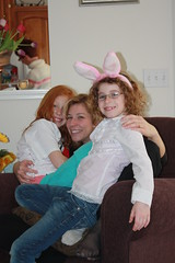 Cathie, Em and Maddie
