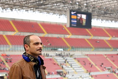 Il fiero tifoso (heidi_polp) Tags: italy football stadium milano calcio inter ssiro interisti