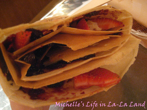 KC's Crepes Cafe- Mixed Berries Crepe