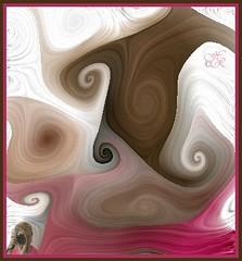 Self Portrait (heatherpix) Tags: portrait abstract colour whirls visualmashups