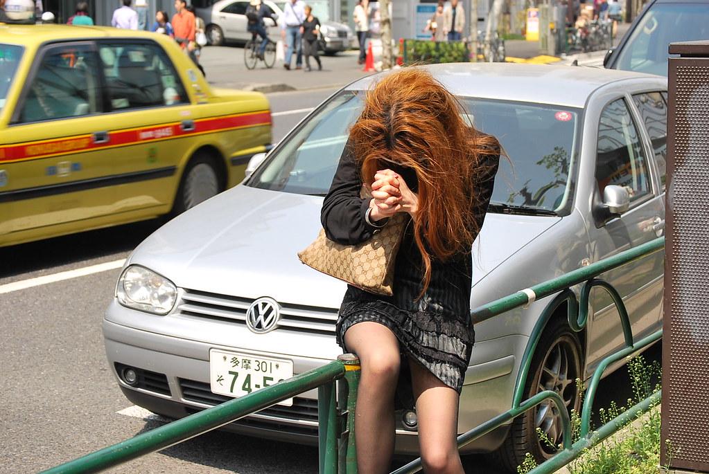 Una toxicómana en Harajuku