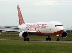 Flyglobespan Boeing 767-319ER G-CEOD (Irish251) Tags: ireland dublin airport boeing dub 767 767300 763 flyglobespan eidw gceod 319er