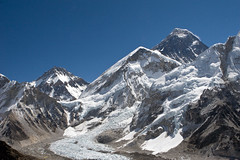 Everest Changtse & Base Camp (PhilipHassell) Tags: nepal camp trekking khumbu everest base lho kalapattar icefall everestbasecamp pattar changtse lhola