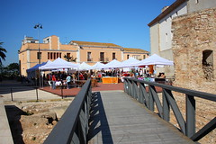 Amposta: Sant Jordi 2009 al Castell