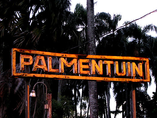 palmentuin sign