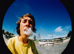 Exhale. (James Alby) Tags: fish eye kids youth children kid lomo lomography skateboarding cigarette smoke skating cancer documentary lifestyle kinder smoking fisheye teen cig smoker tabak sigaret underage raucher tabacco cigs zigarette fumo rauchen fumare kippe nikotin lungenkrebs tutun childrensmoking kidssmoking smokingkids fumeaza kinderrauchen