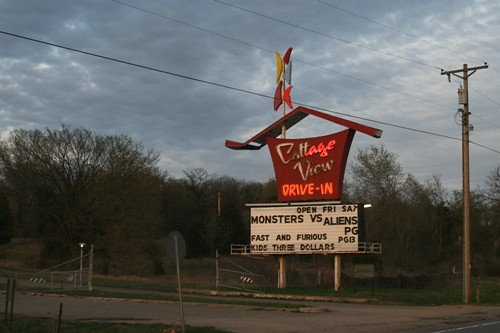 drive in sign