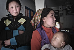 Langtang women  (Syābru Bensi, , Nepal) Photo