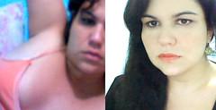 thinking of you (sintowin) Tags: webcam bed bedroom waiting blackdress thinkingofyou