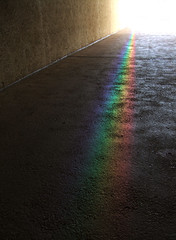 I have seen the light (smurfie_77) Tags: museum cafe rainbow spectrum path corridor australia brisbane follow queensland thelight culturalcentre ihaveseenthelight guesswherebrisbane