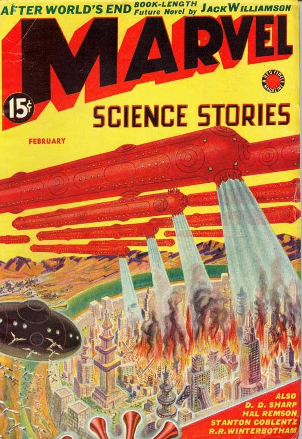 marvel science stories feb 1939
