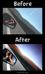 "Before/After - ""Flashed"" (Ben Heine) Tags: travel light shadow wild sun reflection nature sepia photoshop season poster landscape photography countryside frames mac scenery poem glow photographie time nikond70 earth geometry lumire couleurs quality magic details shapes stroke philosophy manipulation harmony memory poet photoediting planet terre trick spirituality portfolio conceptual curve paysage technique wacom retouching tutorial edit rendering beforeafter specialeffects sauvage avantaprs trucs originalversion godspainting digitalshot benheine effetsspciaux graphicenhancement editingtools tablettegraphique finalwork colourscolors hubertlebizay hubzay flickrunited kleurentones"
