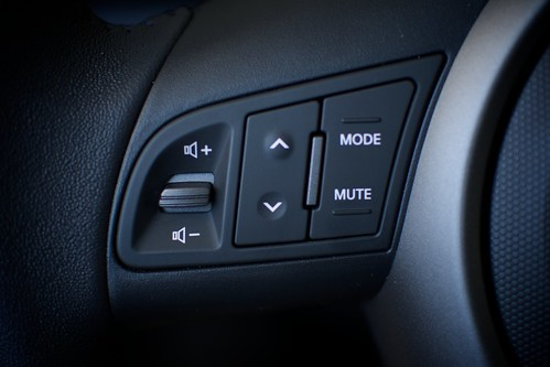 Kia Soul audio controls