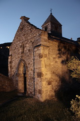 Chapelle de Valre (ZeMitch (Raga photos)) Tags: chapel nuit chapelle sion valre
