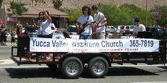 Christians at the Grubstakes Parade