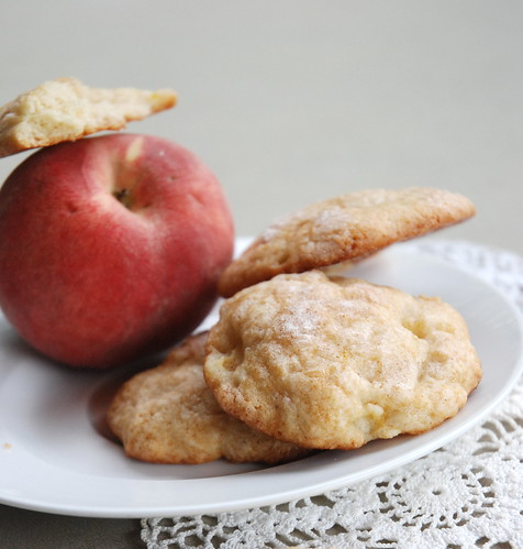 Fresh-Peach Drop Cookies
