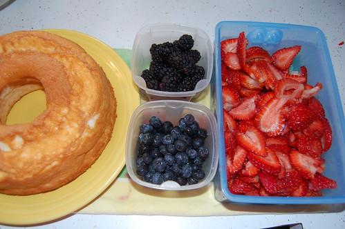 Prepping for Dessert