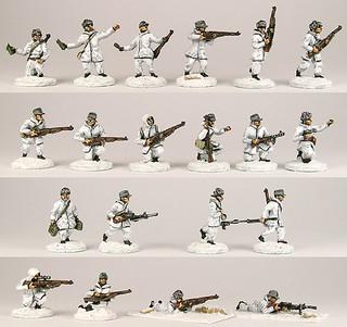 20mm Warmodelling Finnish Infantry