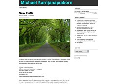New Path | Michael Karnjanaprakorn_1243552094285