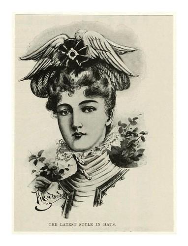 005-El ultimo estilo en sombreros 1898