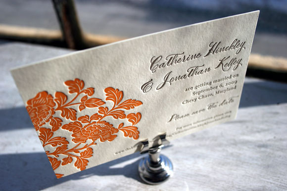 Rhon Letterpress Invitation