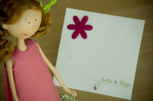 Convites Sofia e Hugo