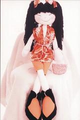 Boneca Chinesa - A58 (Moldes videocurso artesanato) Tags: boneca a58 chinesa