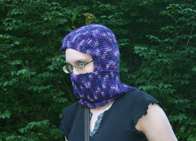 Ravelry: Seamless Hooded Scarf pattern by Andraya Copass