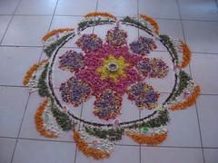 IMG_5050 (nagashreenaveen) Tags: art colorful folk indian traditional creative competition mandala tribal colourful sandpainting kolam rangoli rangavalli themerangoli