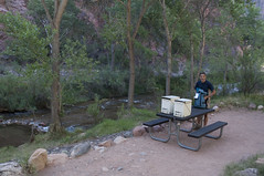 Our campsite (Grand Canyon, Arizona, United States) Photo